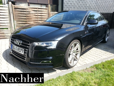 Facelift A5 Coupe Umbau 2
