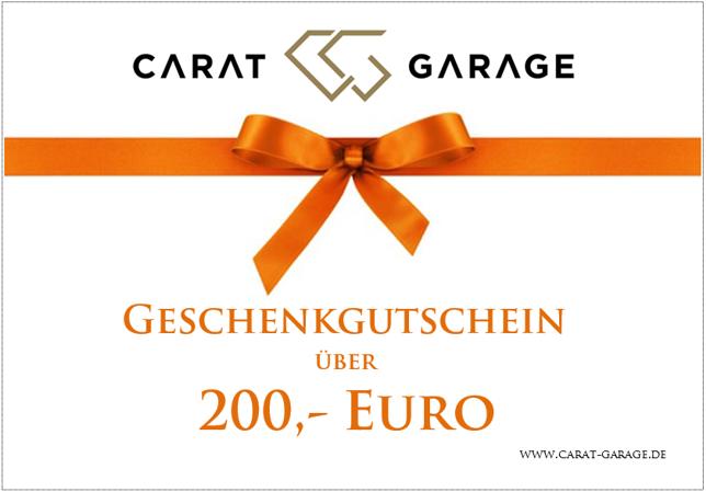 Geschenkgutschein 200,- Euro